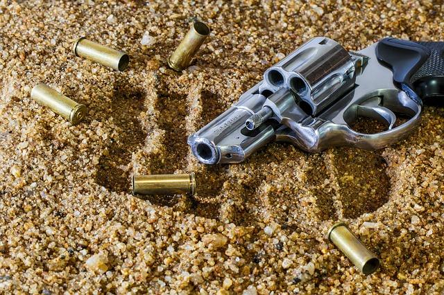 střelná zbraň a náboje