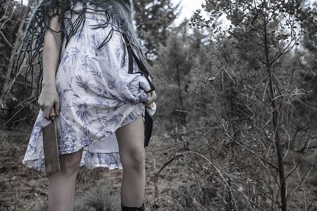 vraždící dívka