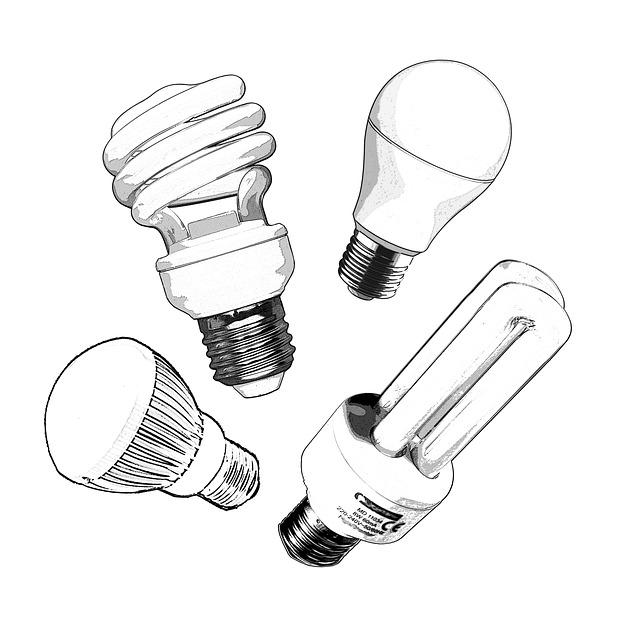různé žárovky