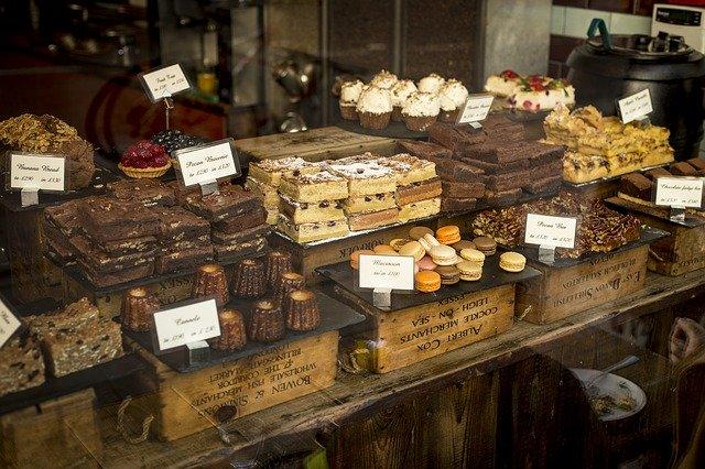 nabídka dortů