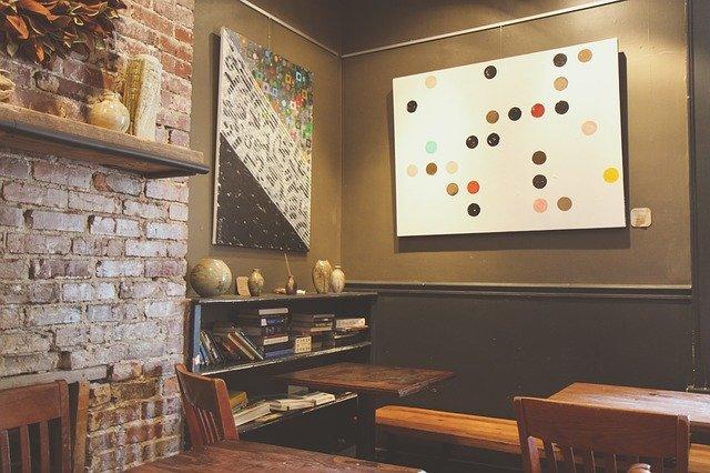 příklad designového obývacího pokoje
