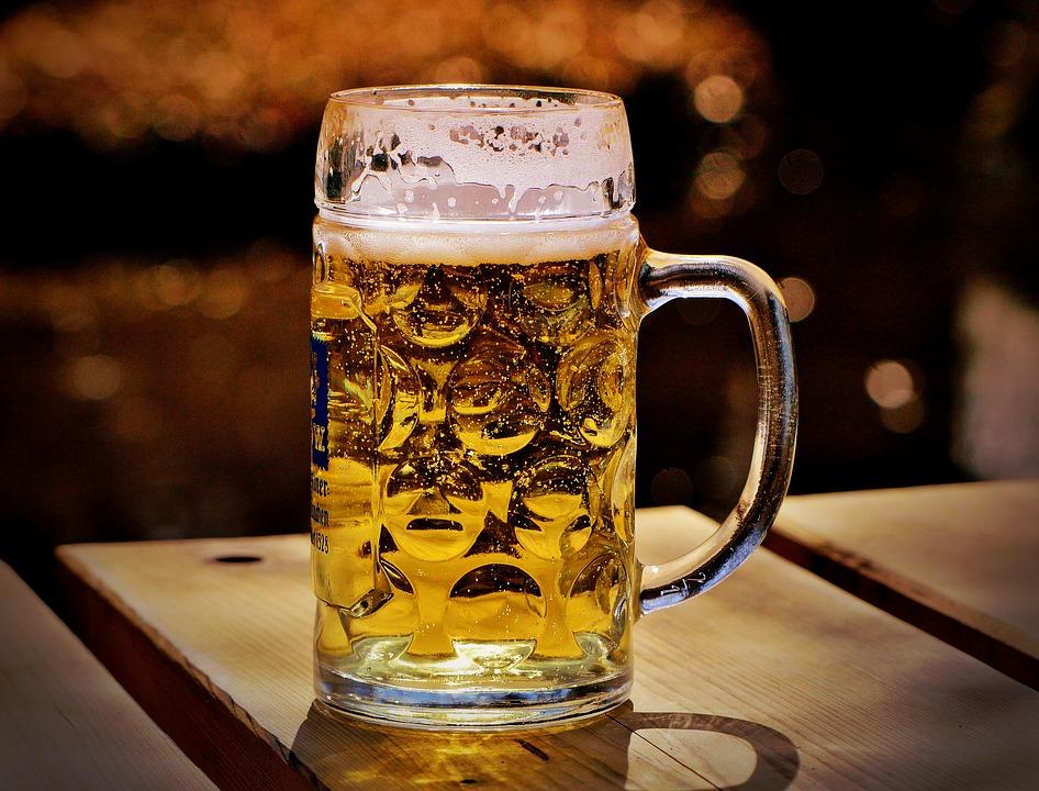načepované pivo