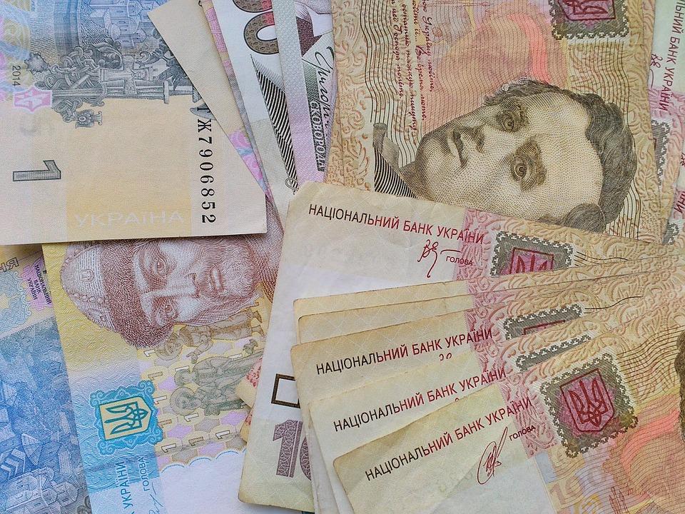 ukrajinské peníze